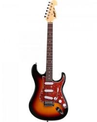 Detalhes do produto Guitarra Strato Memphis MG32 Sunburst TAGIMA