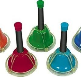 Detalhes do produto Sinos Cromáticos de mão / Desk Bell Set