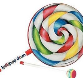 Detalhes do produto Remo Kids®  Lollipop Drum 10 pol Infantil