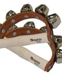 Detalhes do produto Guizos  Com Alça Madeira Dolphin
