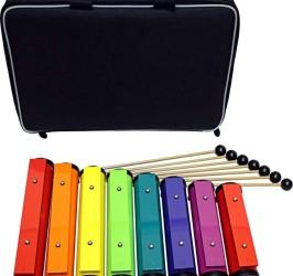 Detalhes do produto Barras Sonoras ChromaNotes® Rhythm Band - Kit Diatônico