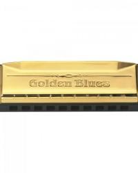 Detalhes do produto Gaita Diatônica em Dó (C) 20 Vozes Golden Blues HERING