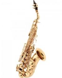 Detalhes do produto Saxofone Soprano Curvo Bb SP508 Laqueado EAGLE