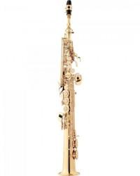 Detalhes do produto Saxofone Soprano Bb SP502 Laqueado EAGLE