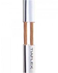 Detalhes do produto Fio Polar Ext 2x0,30mm 22 Preto TIAFLEX - RL / 100