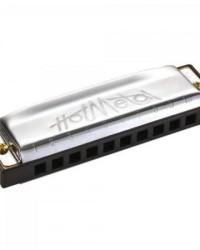 Detalhes do produto Gaita Harmônica Dó (C) Hot Metal Prata HOHNER