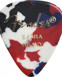 Detalhes do produto Palheta Celulóide Shape Classic 351 Extra Heavy Confetti FENDER - PCT / 144