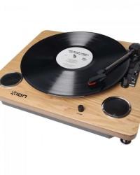 Detalhes do produto Toca Discos com Alto Falante + Conversor Digital MP3 ARCHIVE LP ION