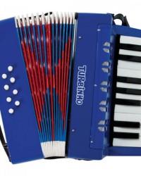 Detalhes do produto Acordeon Sanfona Infantil 104 Azul TURBINHO