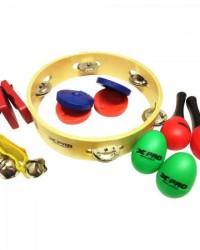 Detalhes do produto Bandinha Rítmica 6 Instrumentos LT6 Diversas Cores XPRO