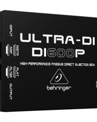 Detalhes do produto Direct Box Passivo Ultra-DI 1 Canal DI600P BEHRINGER