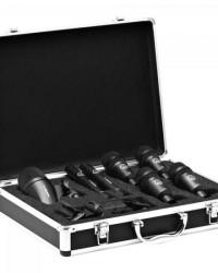Detalhes do produto Kit De Microfones Para Bateria DRUM SET SENSSION Preto AKG