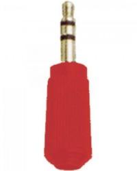 Detalhes do produto Plug P2 Stereo 104 Vermelho EMETAL - DEZ / 10