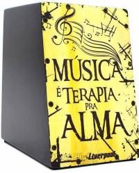 Detalhes do produto Cajón Mini Liverpool Música Caj-mus Compacto Com 20cm De Altura (crianças Adultos)