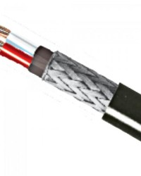 Detalhes do produto Fio Sonoriza 1P 22AWG Microfone Preto KMP/RFS - RL / 100