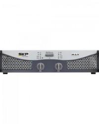 Detalhes do produto Amplificador Profissional Classe AB 400W MAX420 Cinza SKP