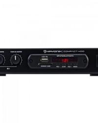 Detalhes do produto Amplificador 40W com Bluetooth COMPACT 400 Preto HAYONIK