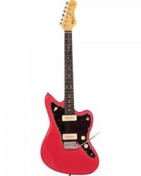Detalhes do produto Guitarra Woodstock TW61 Fiesta Red TAGIMA