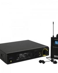 Detalhes do produto Sistema de Monitoramento sem Fio STAGE IN EAR Preto SKP