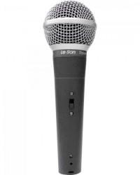 Detalhes do produto Microfone de Mão Dinâmico LS58 Cinza Chumbo LESON