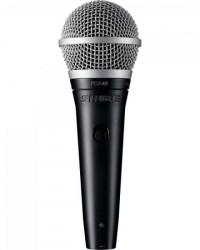 Detalhes do produto Microfone Vocal PGA48-LC Preto SHURE