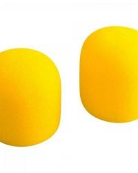 Detalhes do produto Espuma Protetora Para Microfone SM58 Amarelo MXT - PCT / 5