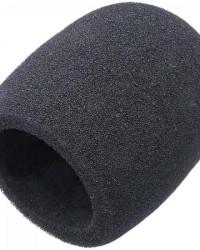 Detalhes do produto Espuma Protetora Para Microfone SM58 Preta MXT - PCT / 5