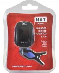Detalhes do produto Afinador Digital Cromático GT-30 CLIP Preto MXT