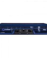 Detalhes do produto Amplificador 330W 8 Ohms 220V T-3 Azul CROWN