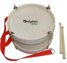 Detalhes do produto Dolphin Bumbo Infantil 10 Polegadas Madeira Pele Leitosa 8461