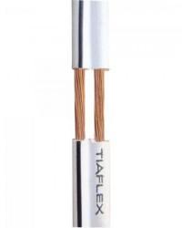 Detalhes do produto Fio Polar Ext 2x0,20mm 24 Branco TIAFLEX - RL / 100