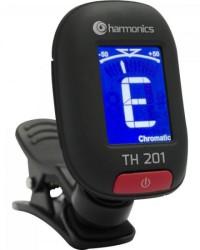 Detalhes do produto Afinador Clip CromáticoTH-201 HARMONICS