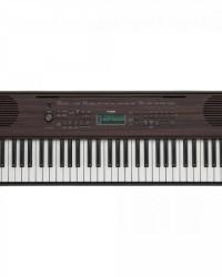 Detalhes do produto Teclado PSR-E360 Dark Walnut YAMAHA