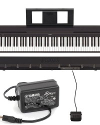 Detalhes do produto Piano Digital P-45 Preto YAMAHA + SUPORTE EM X E BANQUETA