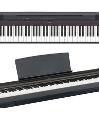 Detalhes do produto Piano Digital  Compacto c/ Fonte e Pedal P125B Preto YAMAHA