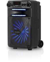 Detalhes do produto Caixa Multiuso Portátil Bluetooth/MicroSD/USB/FM 100W GO!POWER 200