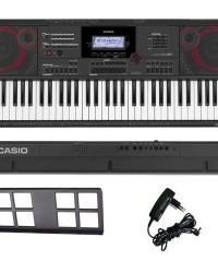 Detalhes do produto Teclado Arranjador Musical 61 Teclas Ctx-5000 Casio Com Fonte