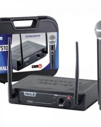 Detalhes do produto Microfone Sem Fio de Mão DVS100SM VOKAL