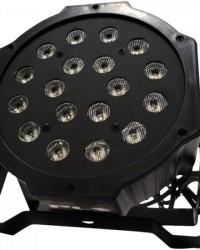 Detalhes do produto Refletor Ultra Light OCTOPUS com 18 Leds de 1W Bivolt RGB PLS
