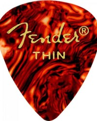 Detalhes do produto Palheta Celulóide Shape Classic 351 Thin Tortoise Shell FENDER - PCT / 144