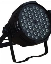 Detalhes do produto Aparelho de Iluminação 3W 54 LEDs Bivolt PROPAR RGBW Preto PLS