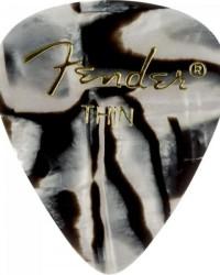 Detalhes do produto Palheta Celulóide Shape Graphic 351 Thin Zebra FENDER - PCT / 144