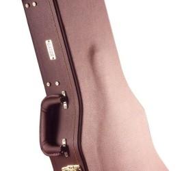 Detalhes do produto Case Deluxe p/Guitarra LP Madeira/Marrom GW-LP-BROWN - GATOR