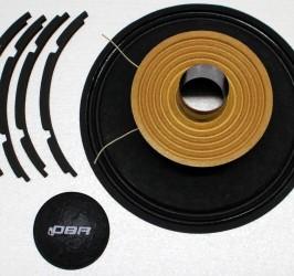 Detalhes do produto Kit de reparo para alto falante CV12 - RK-CV12 -DBR