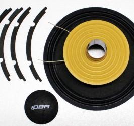 Detalhes do produto Kit de reparo para alto falante PW10 - RK-PW10 -DBR