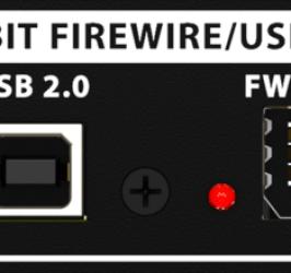 Detalhes do produto Interface Firewire para x32 - Behringer