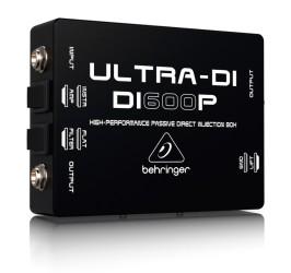 Detalhes do produto Direct Box Passivo - DI600P - Behringer