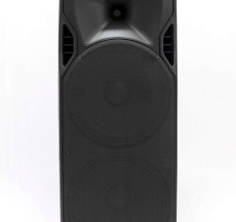 Detalhes do produto Caixa acustica injetada 400W BiVolt - LPS-2015A MP3 - Lexsen