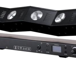 Detalhes do produto Ribalta LED Beam com efeito de raio infinito TWISTER - PLS