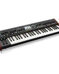Detalhes do produto Sintetizador Behringer Deepmind12 com 12 vozes e 4 FX eng.